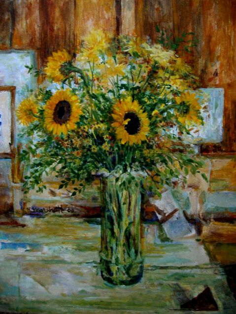 Sunflowers 20x24